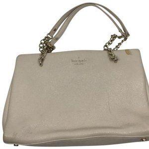Kate Spade Cream Leather Shoulder Bag